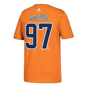 b2c81a7d3 adidas Men s NHL Edmonton Oilers Go to Tee  97 Connor McDavid