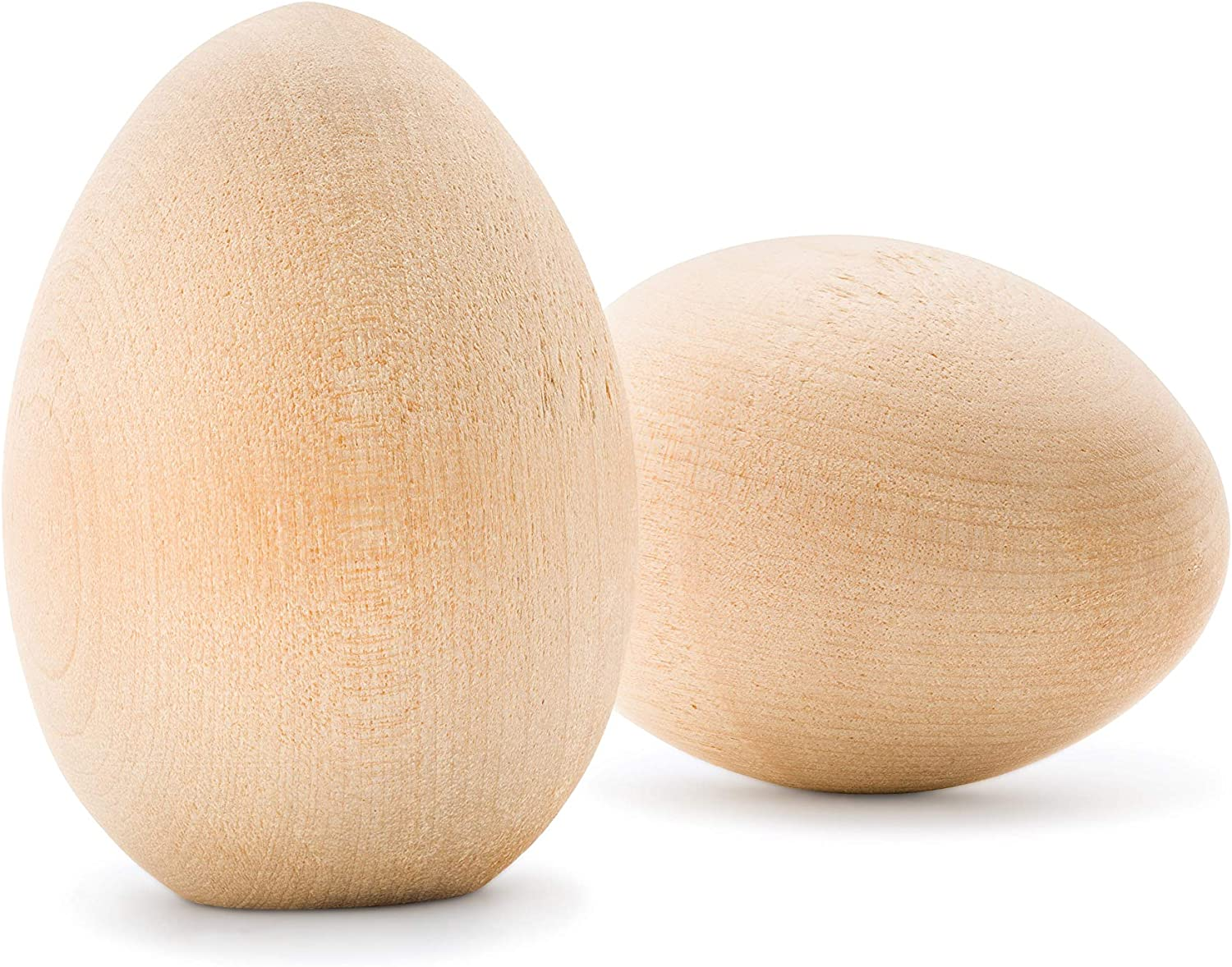 Easter Craft Wooden Toy Eggs Paintable Eggs Easter Eggs
