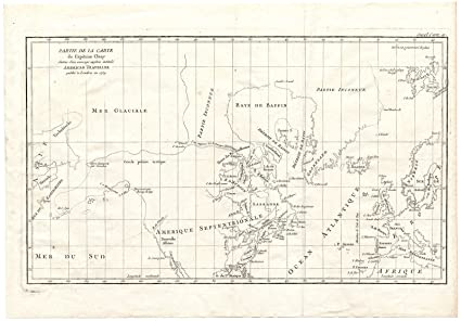 Amazon.com: Antique Map-NORTH AMERICA-EUROPE-CAPTAIN CLUNY ...