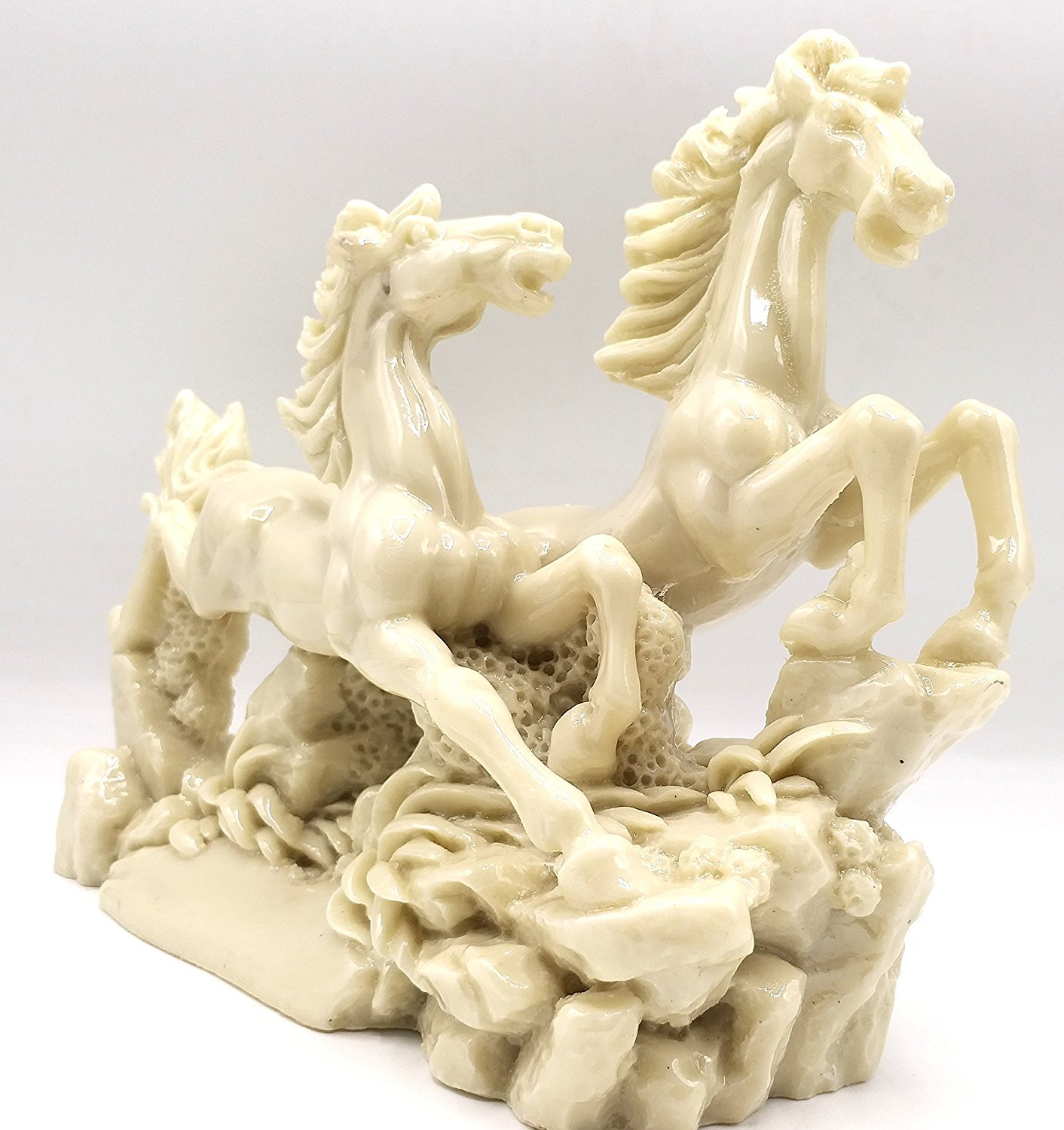 Odishabazaar Feng Shui Running Horse Wealth Power Statue Figurine Home