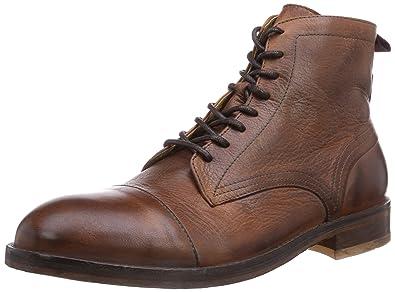 H Shoes PALMER - botas de cuero hombre, color negro, talla 41