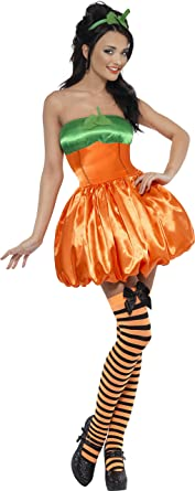 Fever Womenu0027s Sexy Pumpkin Costume  sc 1 st  Amazon.com & Amazon.com: Fever Womenu0027s Sexy Pumpkin Costume: Clothing