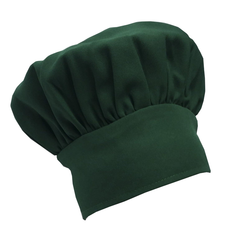 Chefskin Kelly Green Chef Mushroom Hat Adults Adjustable CHEFSKIN MUSHROOM HAT
