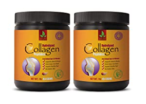 Bone and Joint Vitamins for Women - Collagen PEPTIDES HYDROLYZED from Collagen I&III - Collagen Pills for Hair and Skin - 2 Bottles 2 LB - 908 Grams