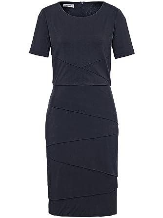 7bf64f8115d0a0 Uta Raasch Damen - Jersey-Kleid mit 1/2-Arm, blau, Damen-Kleider ...