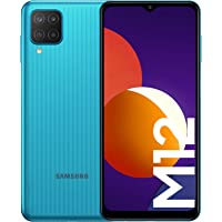 Samsung Smartphone Galaxy M12 con Pantalla Infinity-V TFT LCD de 6,5 Pulgadas, 4 GB de RAM y 64 GB de Memoria Interna…