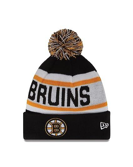 b5e012dd4eb Amazon.com   NHL Boston Bruins Biggest Fan Redux Beanie   Sports ...
