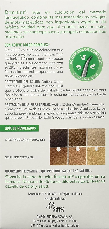 Farmatint Gel 8D Rubio Claro Dorado   Color natural y duradero   Componentes vegetales y aceites naturales   Sin amoníaco   Sin Parabenos   ...