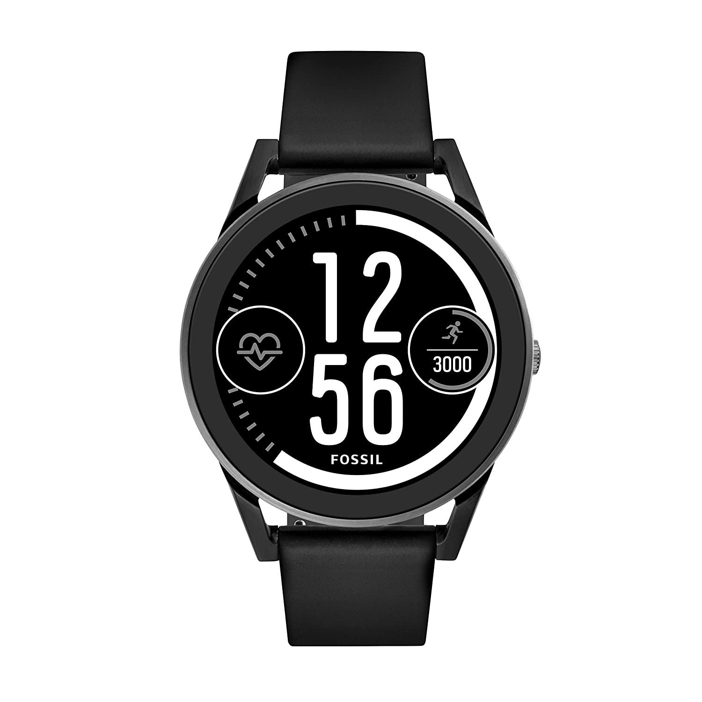 Fossil Gen 3 Sport Smartwatch Q Control Black Silicone FTW7000
