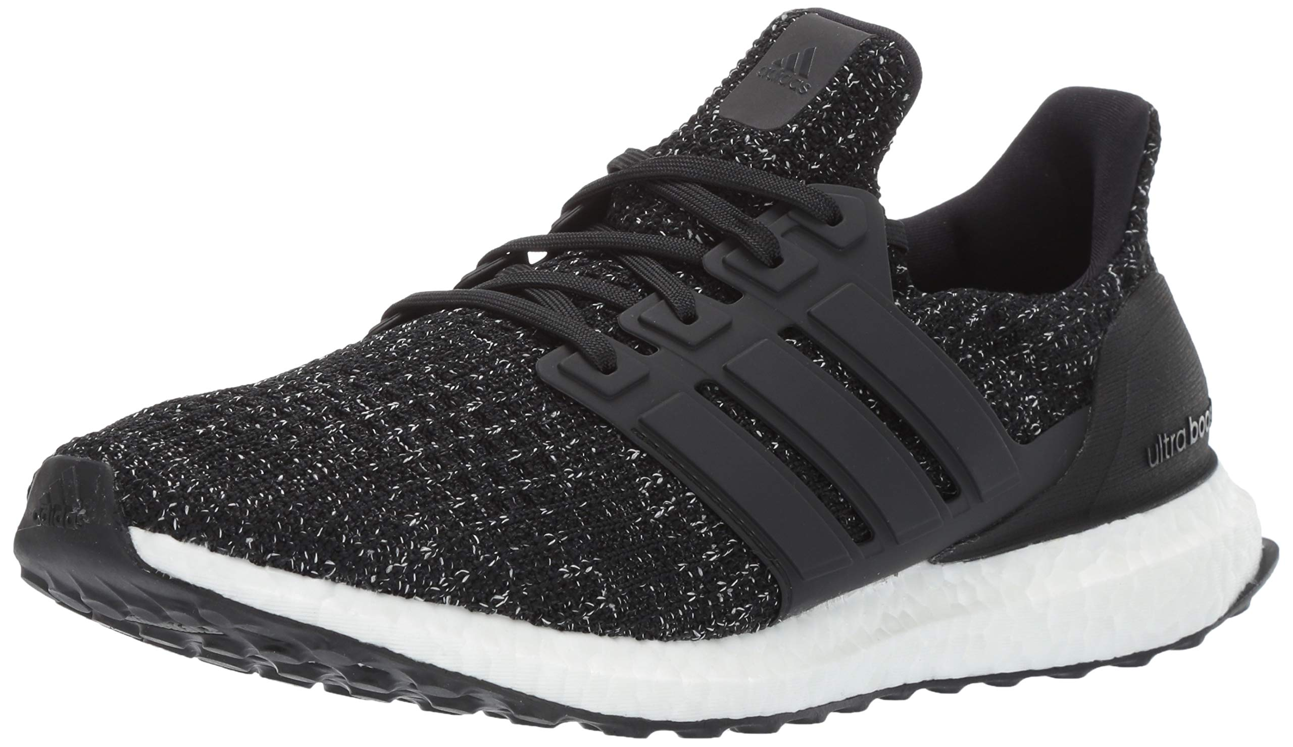 adidas Men's Ultraboost, Black/White, 4.5 M US