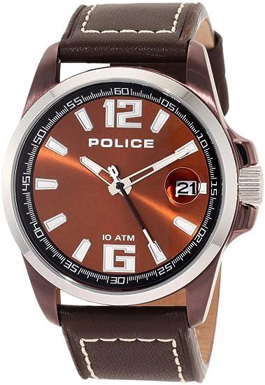 Police 12591j - Reloj de caballero de cuarzo