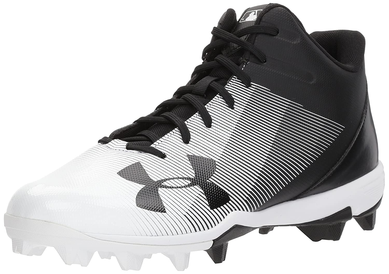 Under Armour Men's Leadoff Mid RM Baseball Shoe B06XC3J38W 6.5 M US|Black (001)/White