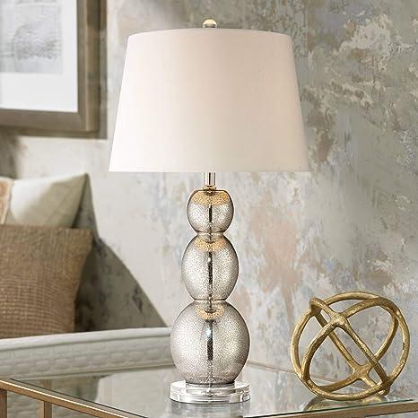 Amazon.com: Lámpara de mesa con pie de tres calabazas ...