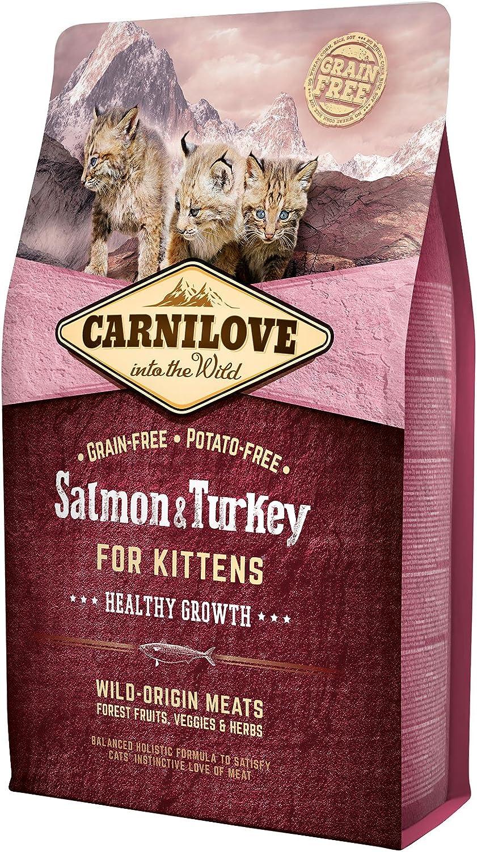 Carnilove Feline Kitten Salmon Pavo 2Kg 2000 g