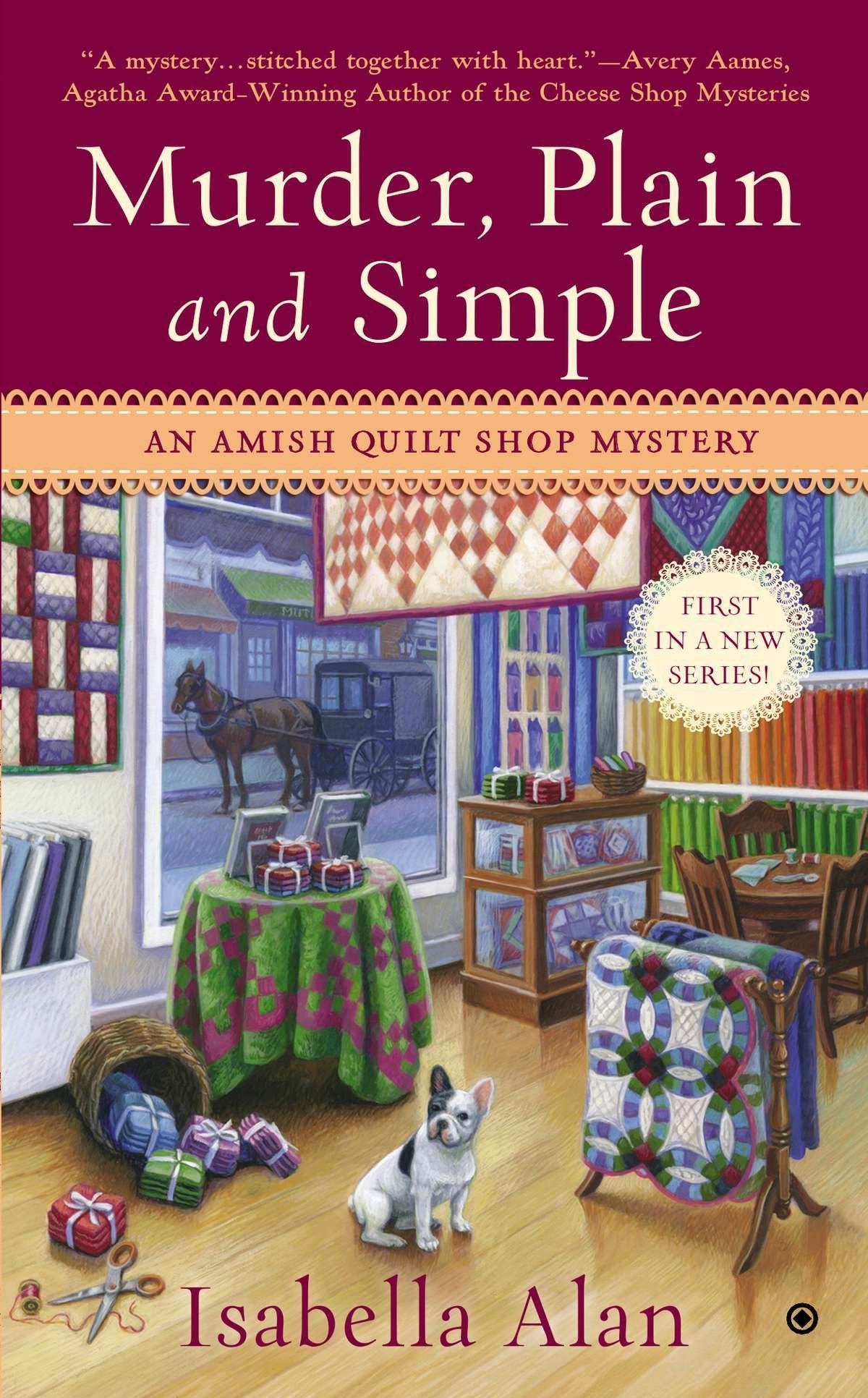 Amazon Murder Plain And Simple An Amish Quilt Shop Mystery
