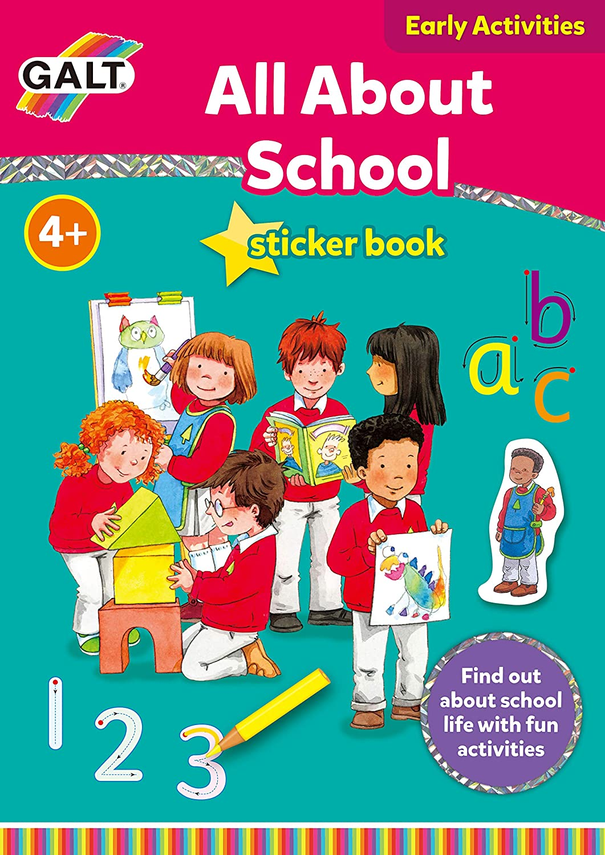 Galt Toys Home Livres D/'apprentissage écriture avec récompense autocollants