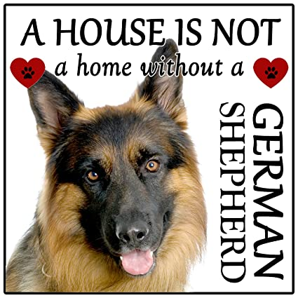 German Shepherd Magnet House Is Not A Home