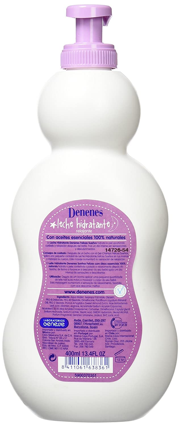 Denenes Felices Sueños Leche Hidratante - 400 ml: Amazon.es: Amazon Pantry