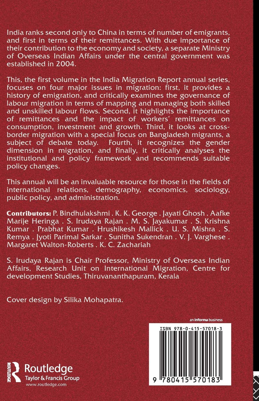Buy India Migration Report 2010: Governance and Labour Migration