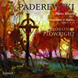 Paderewski: Klaviersonate Op.21 / Variationen Op.11 & Op.23