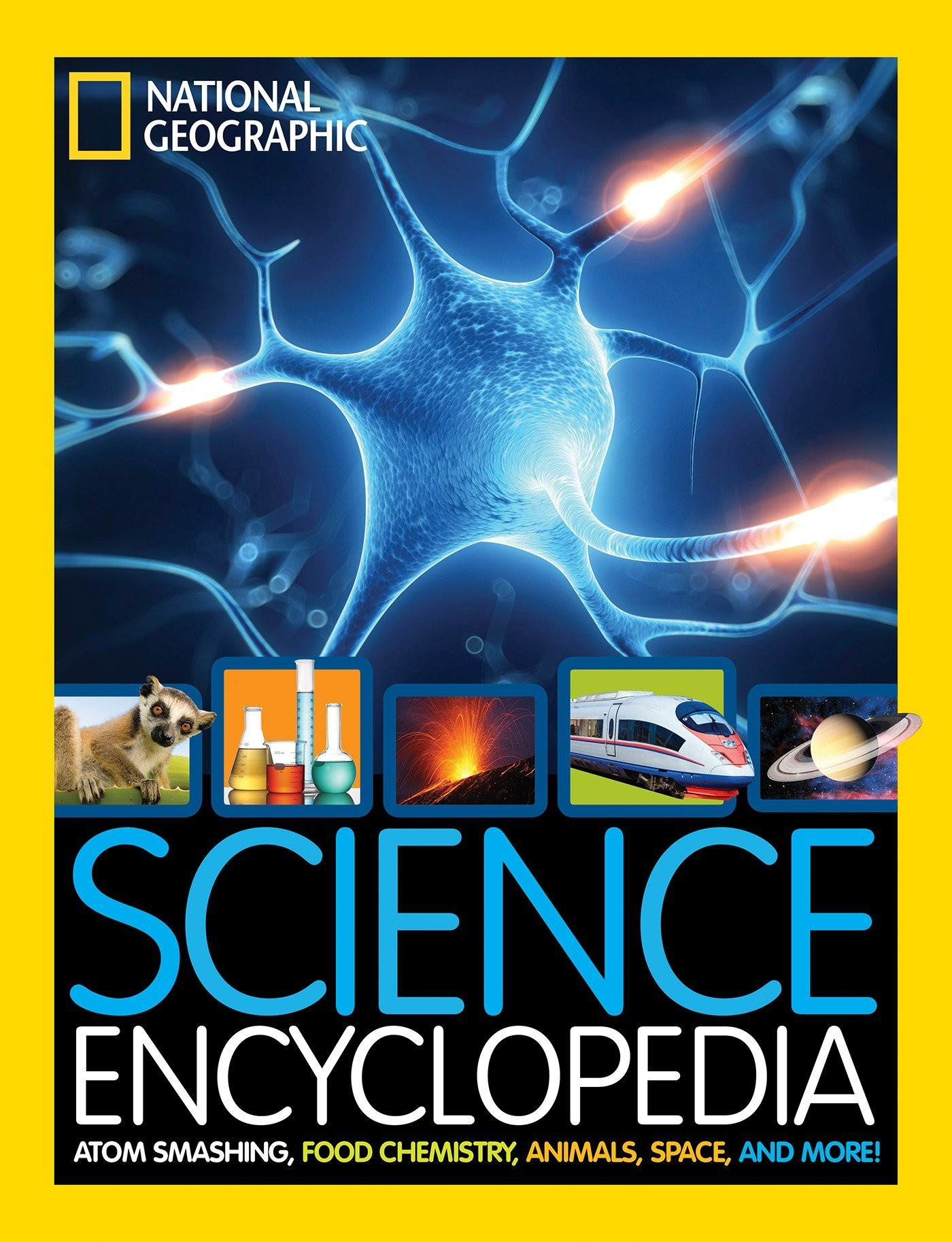 Science Encyclopedia: Atom Smashing, Food Chemistry, Animals, Space, and  More! (Encyclopaedia ): Amazon.co.uk: National Geographic Kids:  9781426325427: ...