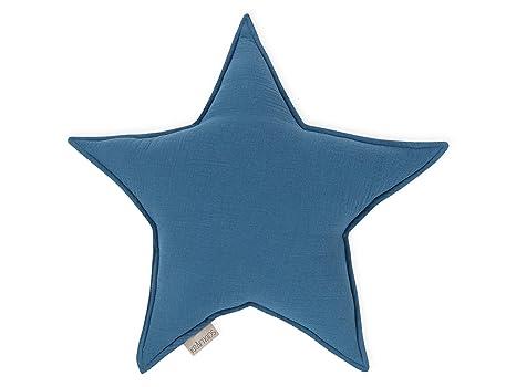 KraftKids - Cojín de estrellas, diseño de muselina, color ...