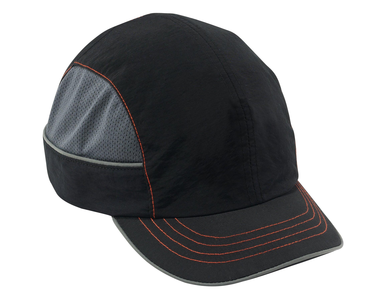 Ergodyne Skullerz 8950 Safety Bump Cap with Short Brim, Black
