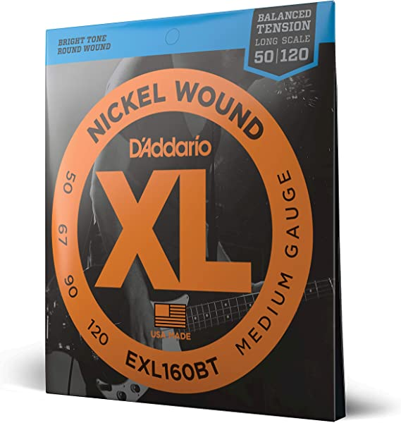 D'Addario EXL160BT Nickel Wound Bass Guitar Strings