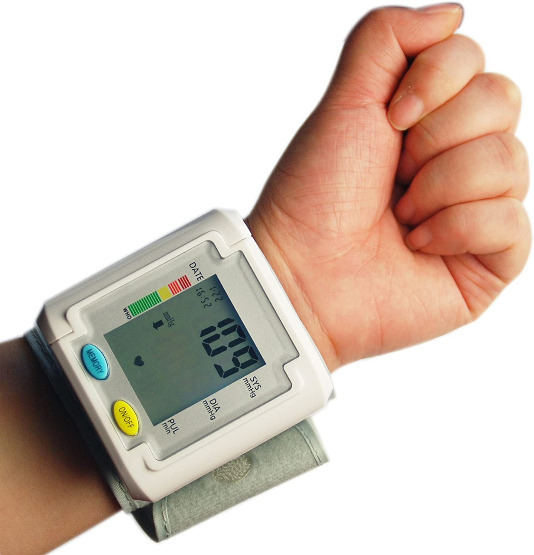 Tipo ChoiceMMed Auto tensiómetro de muñeca con hipertensiones ...