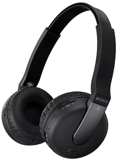 Sony G037N20N1 - Auriculares inalámbricos de diadema cerrados con Bluetooth, micrófono, negro
