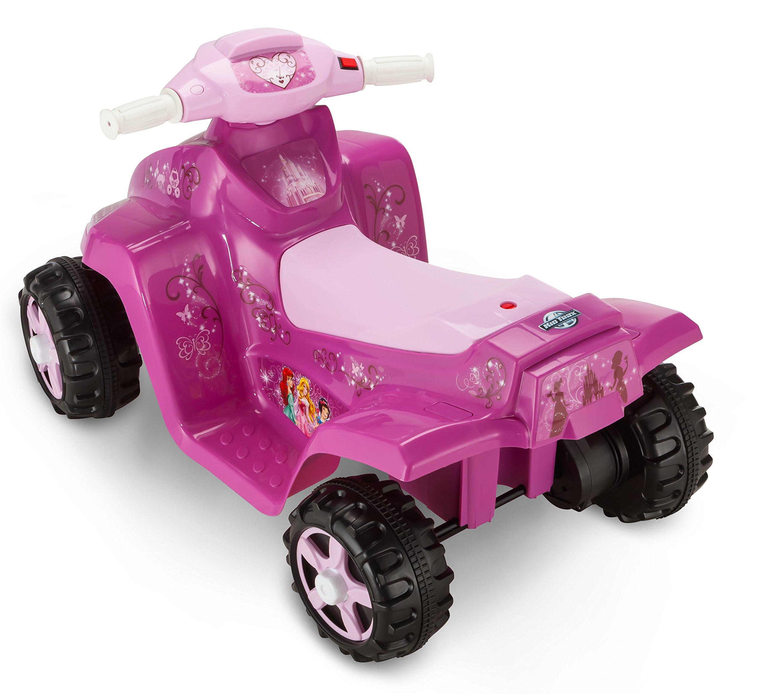 Kid Trax Disney Princess 6V Toddler Quad Ride On, Pink by Kid Trax (Image #2)