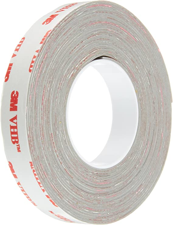 0.5 in Width x 8 in Length 25 Pieces//Pack 3M VHB Tape RP16