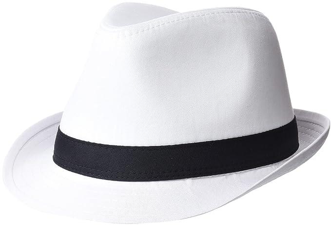 Beechfield - Cappello di Feltro (S-M) (Bianco Nero) b4d0f90d5c20