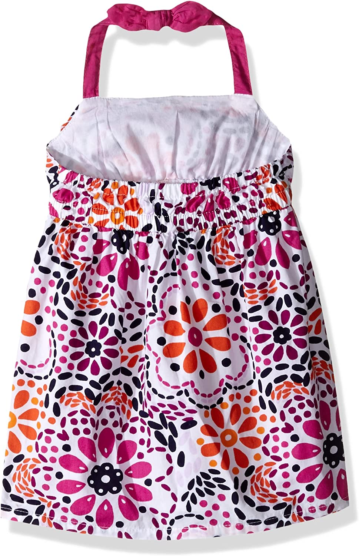 Gymboree Baby Girls Floral Medallion Print Halter Dress