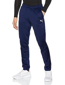 96fb022423 Puma Liga Training Pant Core Pantalon de Jogging Homme, Bleu (Peacoat  White),