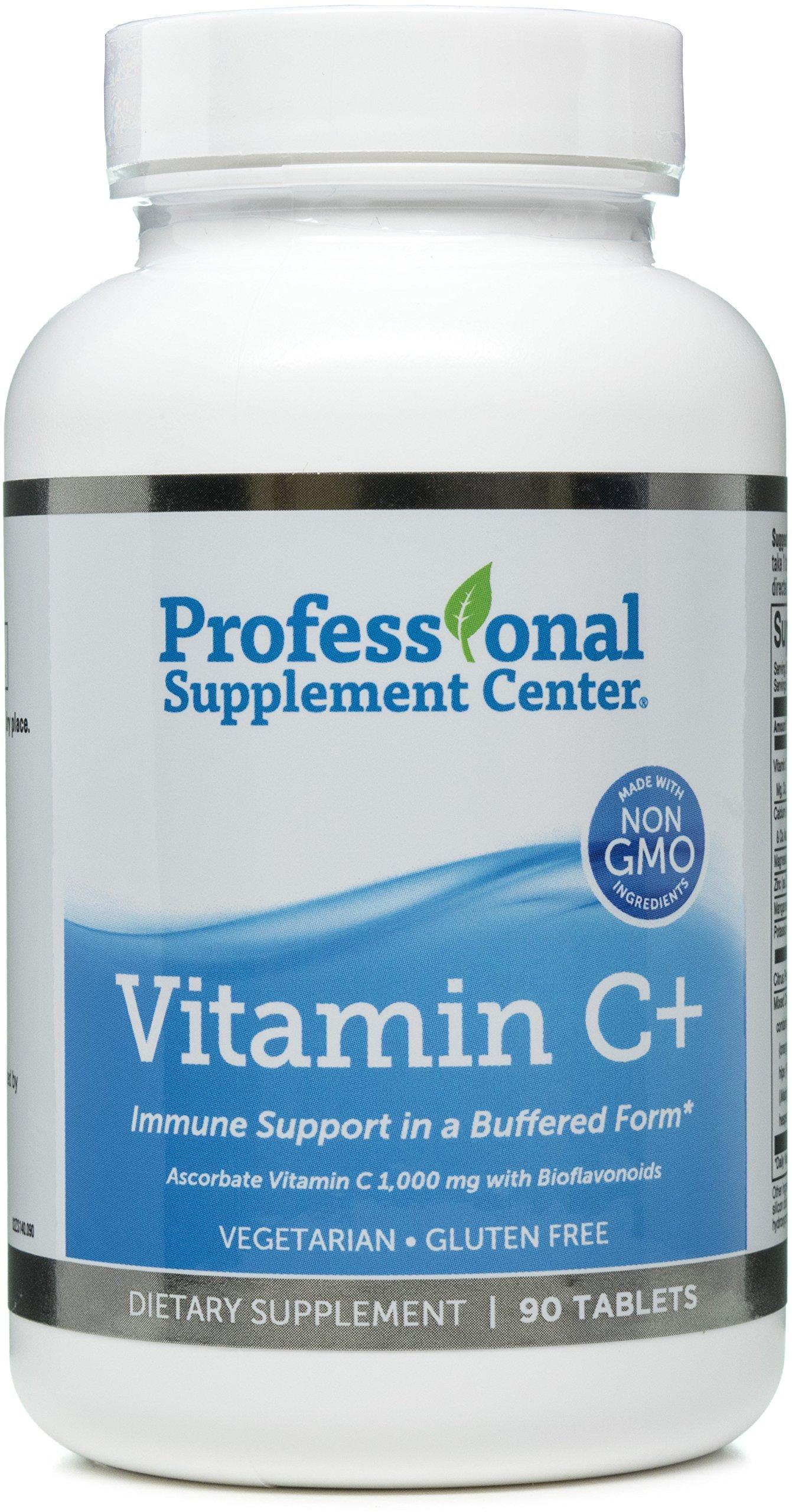 Professional Supplement Center - Vitamin C + - 90 Tablets