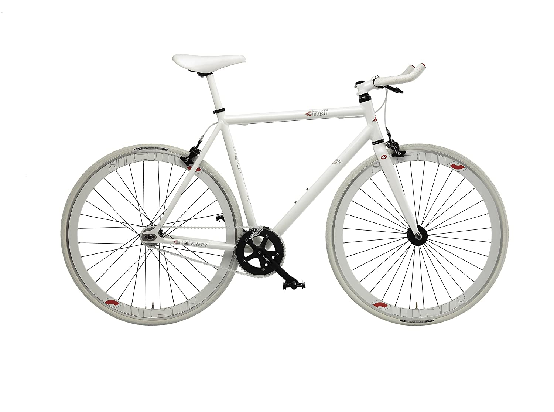 Cinelli Bootleg Mystic Rats Urban Bike- White, 47 cm: Amazon co uk