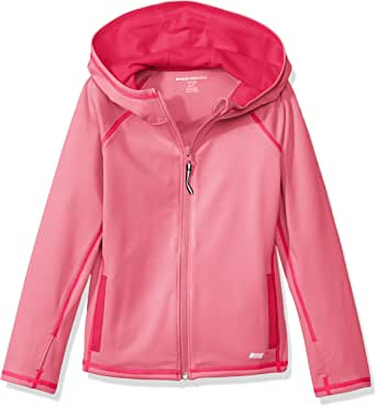 Amazon Essentials Girls' Full-Zip Active Jacket