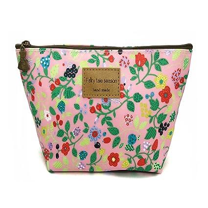 Porta cosméticos HUNGER estampado floral 3fc5371d6fa3