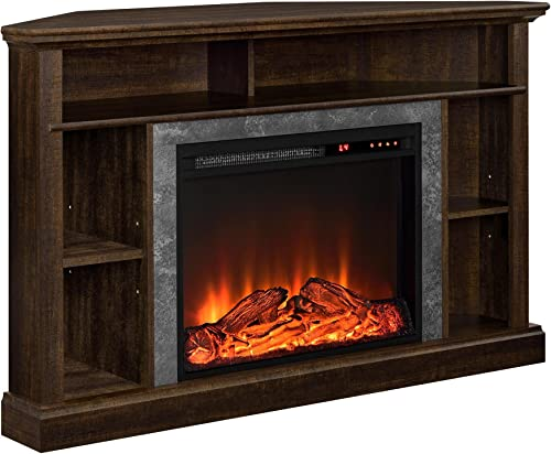 Ameriwood Home Overland Electric Corner Fireplace