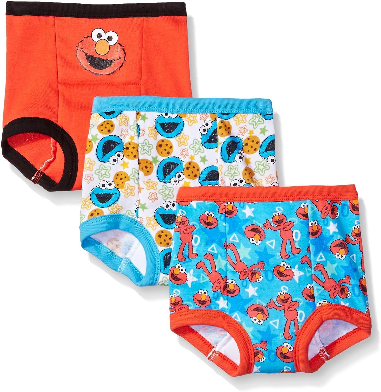 Sesame Street Girls Baby and Toddler Potty Training Underwear