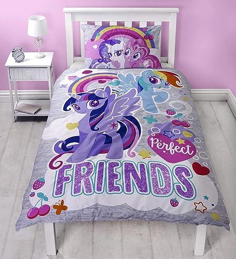Copripiumino My Little Pony.My Little Pony Set Copripiumino Per Letto Singolo Amazon It