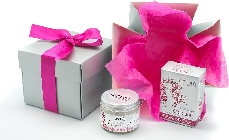 Omum - Caja Felicidades mamá futura - regalo mujer embarazada y madre joven - Embarazo - Bio