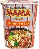 Mama - Shrimp Tom Yum Cup - Fideos orientales sabor a camarón - 70 g