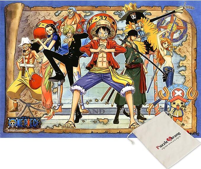 Haksan Más allá de una Pieza el Nuevo Mundo - oda eiichiro - 500 Piezas del Rompecabezas de Rompecabezas [Se Incluye Bolsa]: Amazon.es: Juguetes y juegos