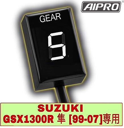 Fits Suzuki Hayabusa GSX1300R 1999-2007 Healtech Gear Indicator GIPRO A//TRE