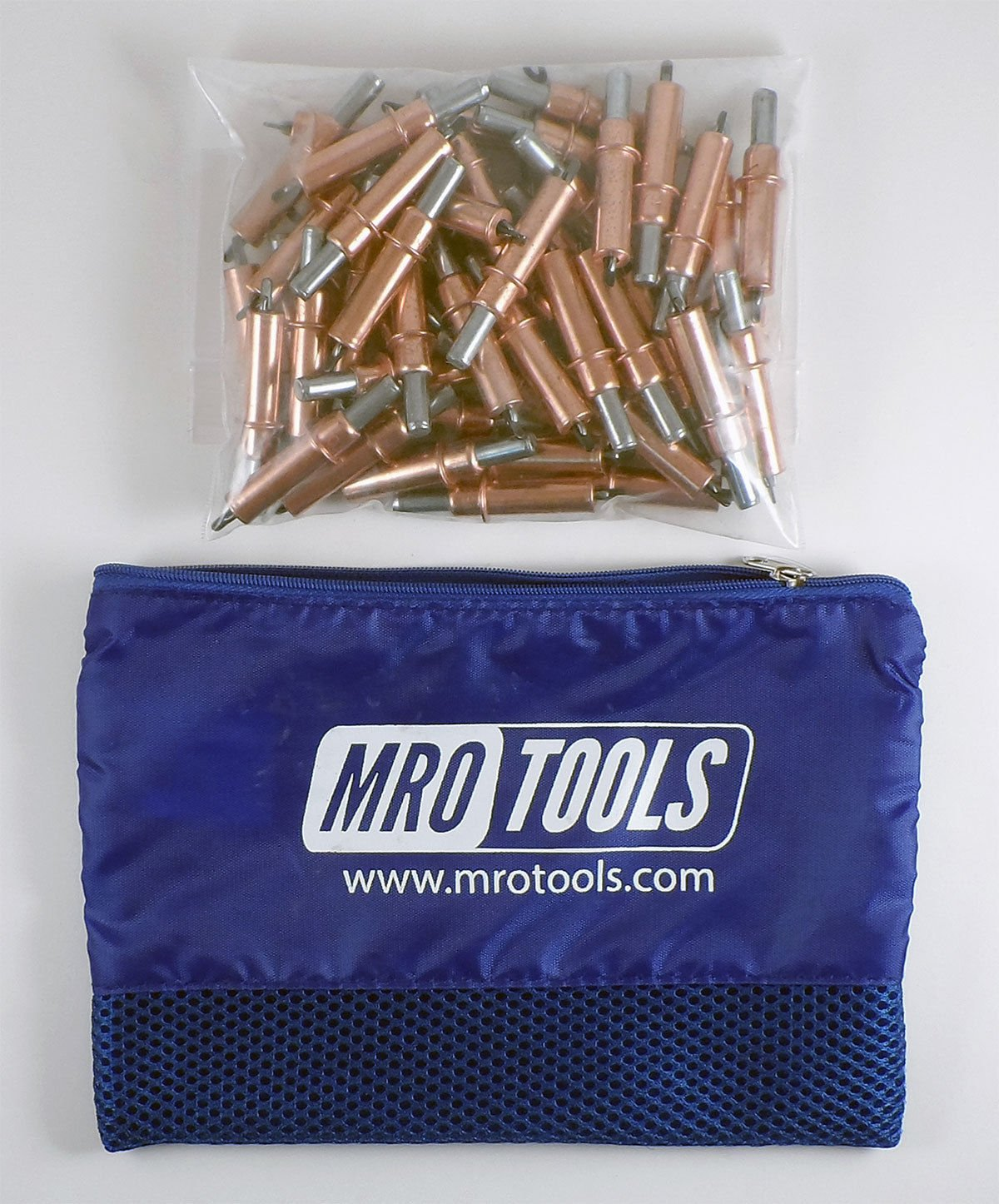 50 1/8 Cleco Sheet Metal Fasteners w/ Mesh Carry Bag (K2S50-1/8)