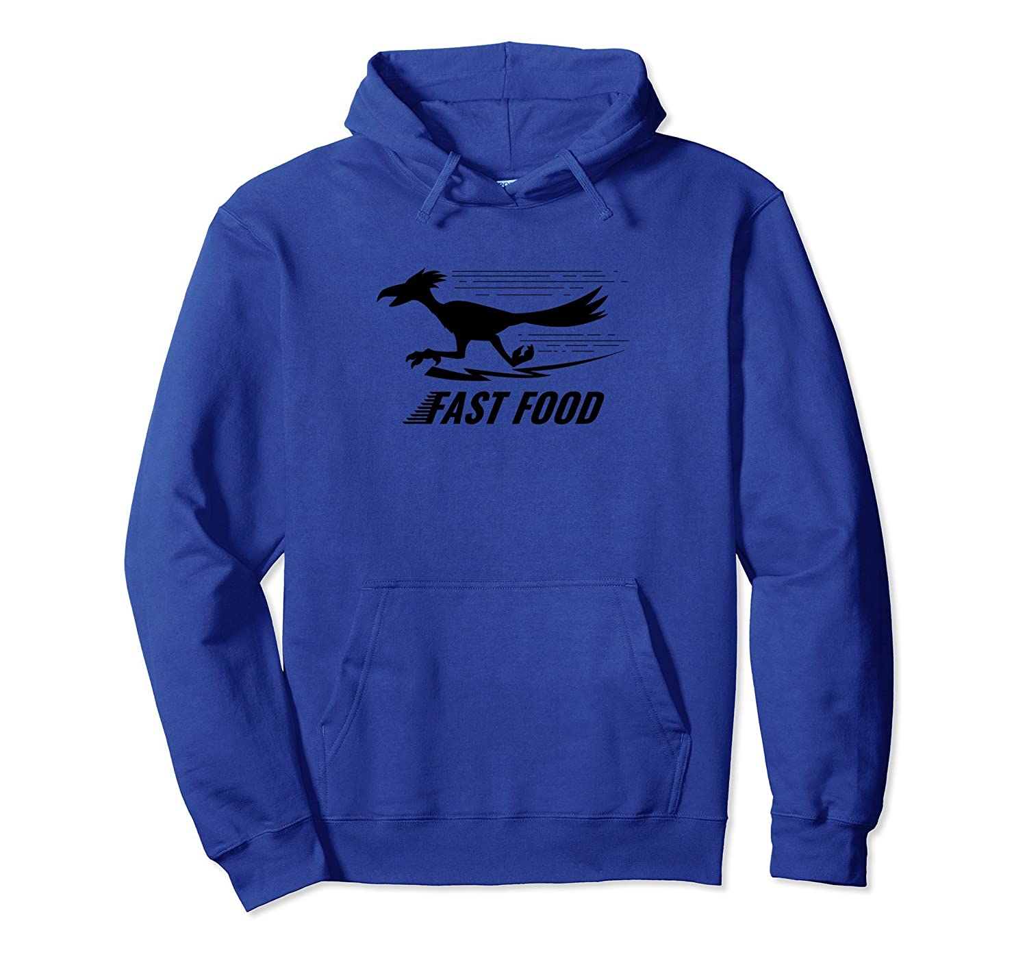 Fast Food Road Runner Design Funny Fast Food Hoodie Gift-AZP