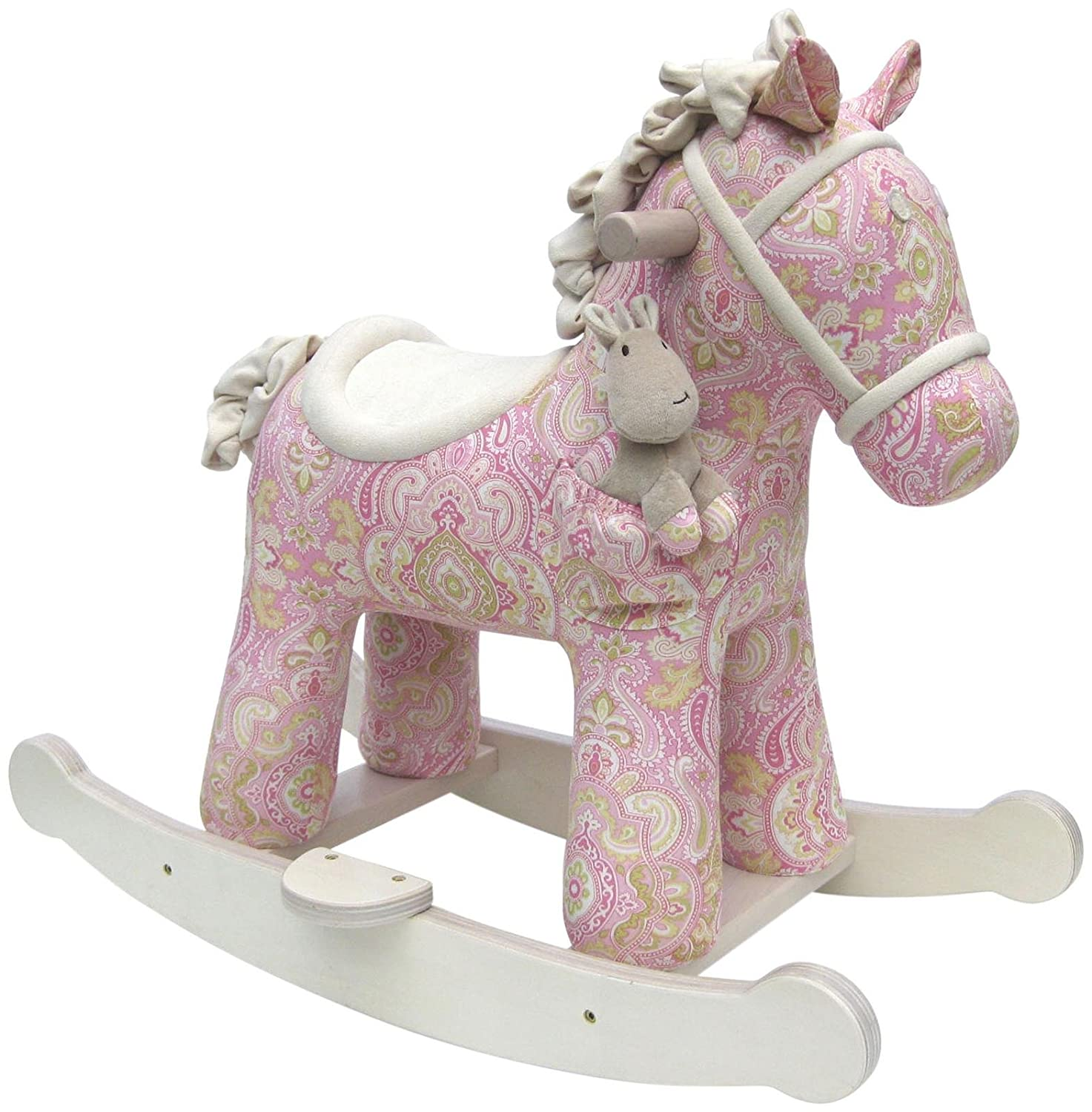 Little Bird Told Me - Pixie et Fluff - cheval à bascule infantile LB3022