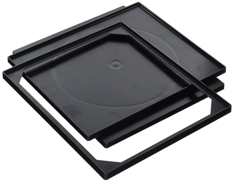 Ellison 16562-BLACK 30 Slot Storage Rack Sure Cut Die, Standard, Black